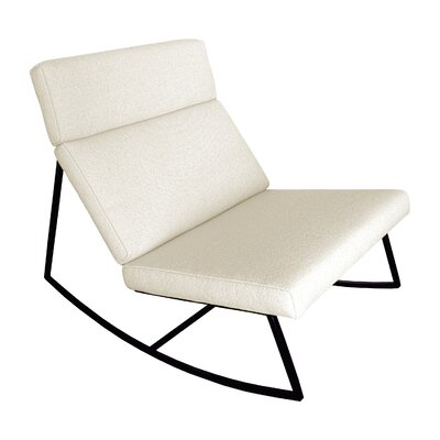 GT Rocking Lounge Chair Color: Cabana Husk