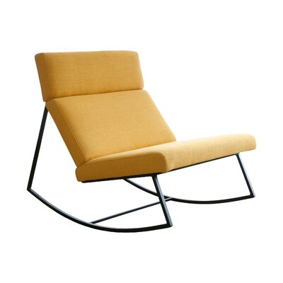 GT Rocking Lounge Chair Upholstery: Laurentian Citrine