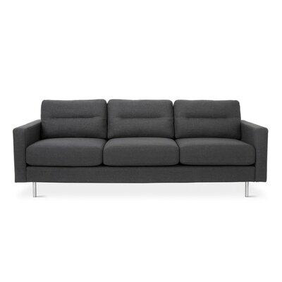 Logan Sofa Body Fabric: Oxford Zinc