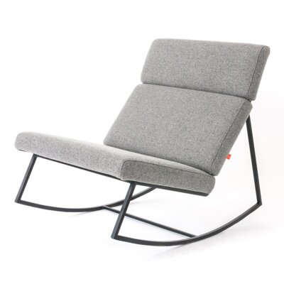 GT Rocking Slipper Chair Color: Varsity Charcoal