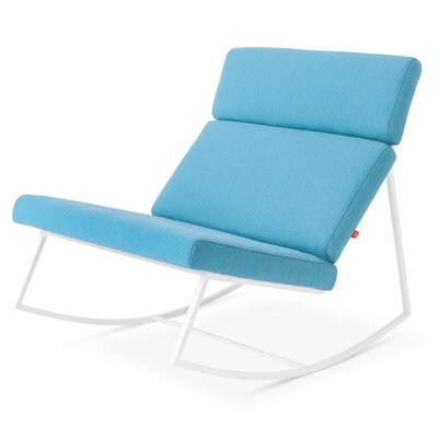 GT Rocking Lounge Chair Upholstery: Muskoka Surf