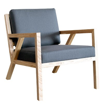 Truss Arm Chair Upholstery: Menswear Griffin