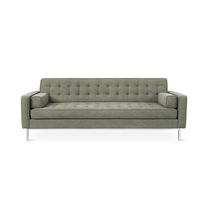 Spencer Loft Reversible Sectional Color: Vintage Army, Finish: Stainless Steel