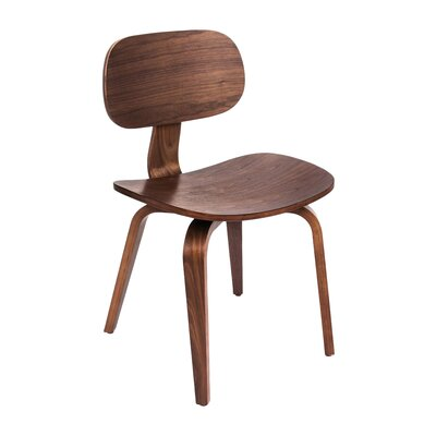 Thompson Dining Chair Finish: Walnut