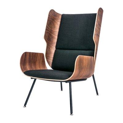 Elk Wingback Chair Upholstery: Laurentian Onyx