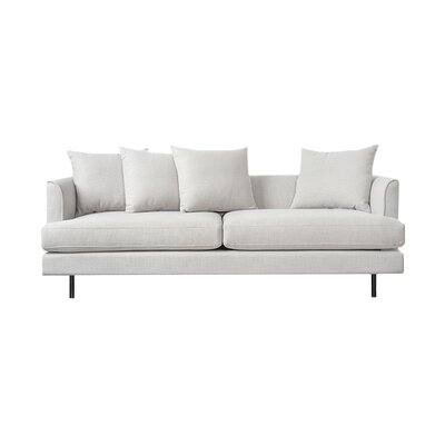 Margot Sofa with Cushions Upholstery: Oxford Quartz