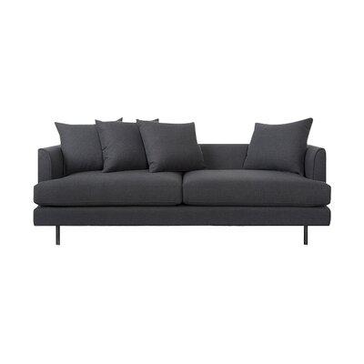 Margot Sofa with Cushions Upholstery: Oxford Zinc