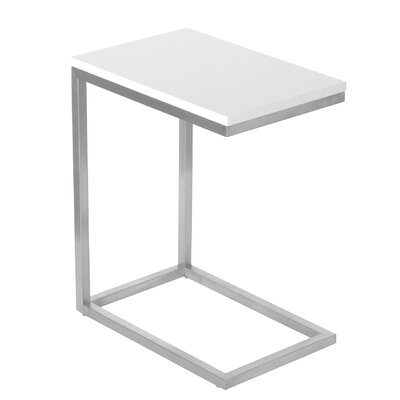 Bishop End Table Finish: White Lacquer
