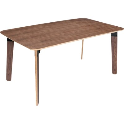 Sudbury Dining Table Finish: Walnut Natural / Black