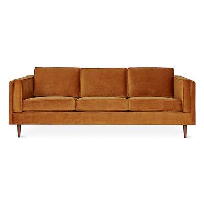 Adelaide Sofa Upholstery: Velvet Rust