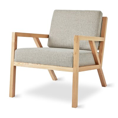 Truss Armchair Upholstery: Leaside Driftwood