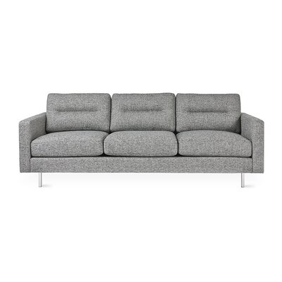 Logan Sofa Body Fabric: Sterling Gravel