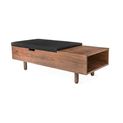 Mimico Storage Ottoman Upholstery: Laurentian Onyx
