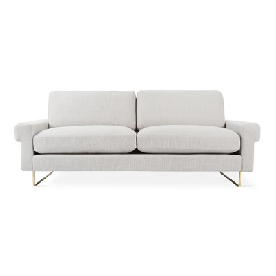 Garrison Sofa with Cushions Upholstery: Oxford Quartz