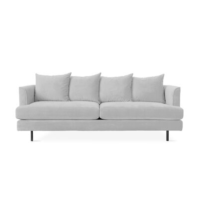 Margot Sofa with Cushions Upholstery: Velvet London