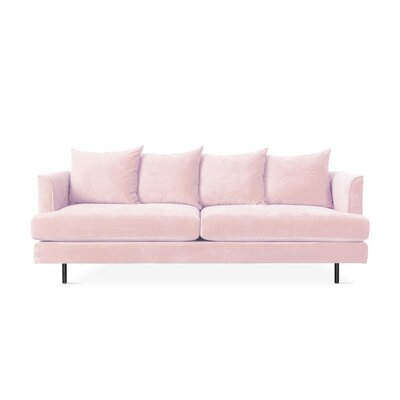 Margot Sofa with Cushions Upholstery: Velvet Blush