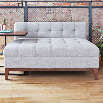 Atwood Settee Upholstery: Parliament Stone