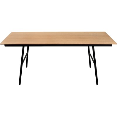 School Dining Table Finish: Natural