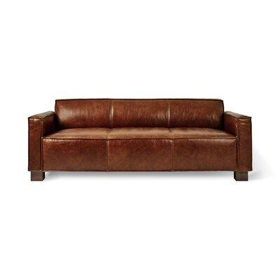 Cabot Sofa Upholstery: Saddle Brown