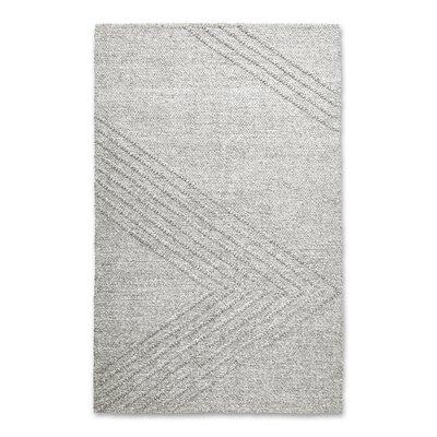 Avro Hand Woven Wool Oatmeal Area Rug Rug Size: 5 x 8