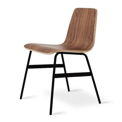 Lecture Dining Chair Finish: Walnut