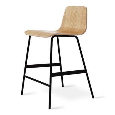 Lecture Counter Bar Stool Finish: Ash Natural