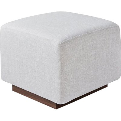 Sparrow Ottoman Upholstery: Cambie Parchment