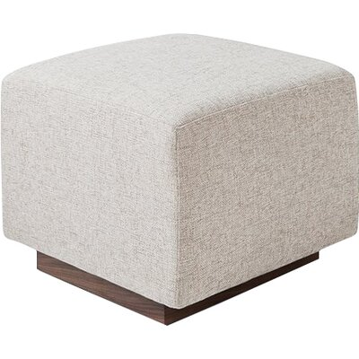 Sparrow Ottoman Upholstery: Leaside Driftwood