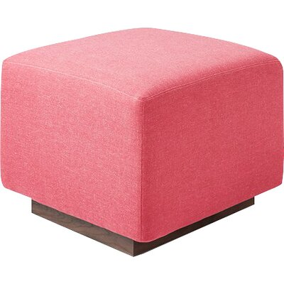 Sparrow Ottoman Upholstery: Berkeley Coral