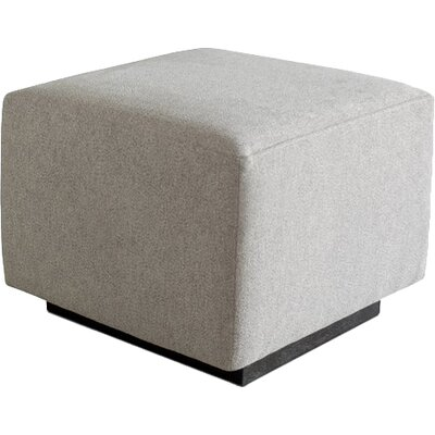 Sparrow Ottoman Upholstery: Parliament Stone