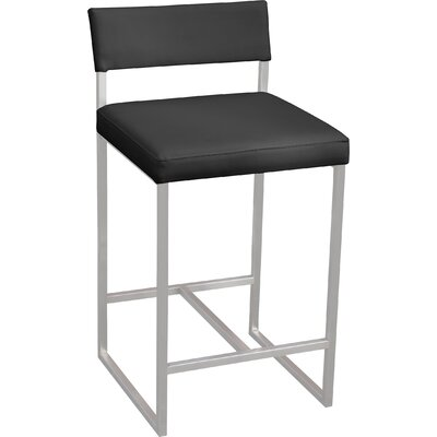 Graph 24 Bar Stool Upholstery: Coal