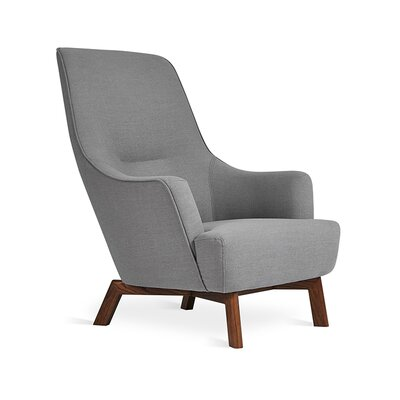 Hilary Chair Body Fabric: Dark Gray