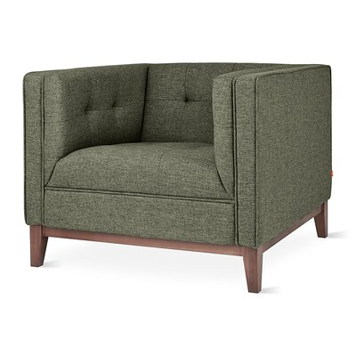 Atwood Armchair Upholstery: Parliament Moss