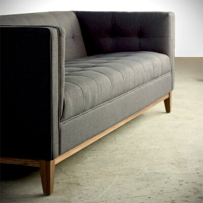 Atwood Sofa Upholstery: Parliament Moss