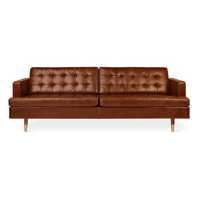 Archer Sofa�Saddle Leather Body Fabric: Brown