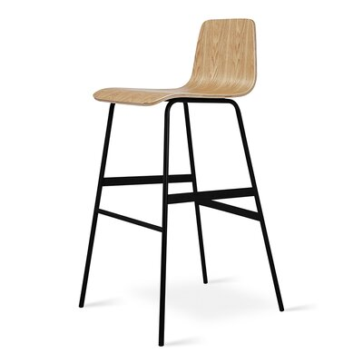 Lecture Bar Stool Color: Ash Natural