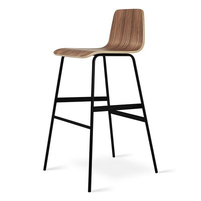 Lecture Bar Stool Color: Ash Walnut