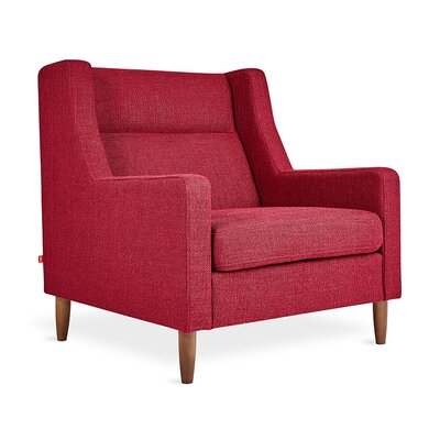 Carmichael Wingback Chair Body Fabric: Andorra Sumac