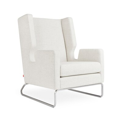 Danforth Wingback Chair Upholstery: Huron Ivory