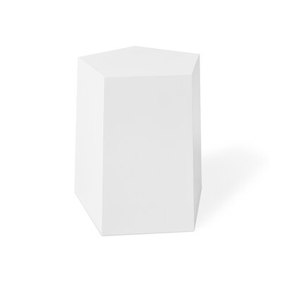Facet 7 Table Matte White