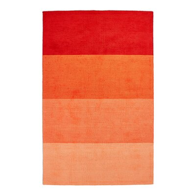 Gradient Rug Ember Rug Size: Rectangle 4 x 6