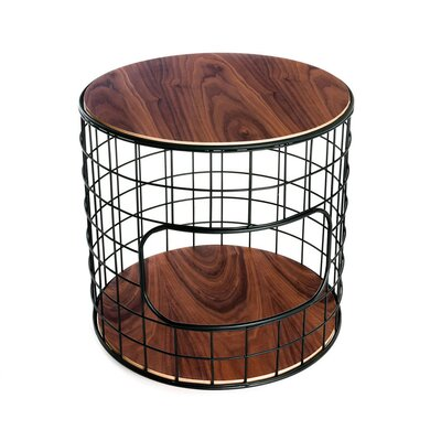 Wireframe End Table