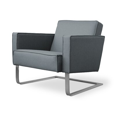 High Park Armchair Color: Menswear Griffen