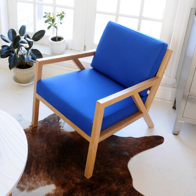 Truss Armchair Upholstery: Mid-Century Brulee