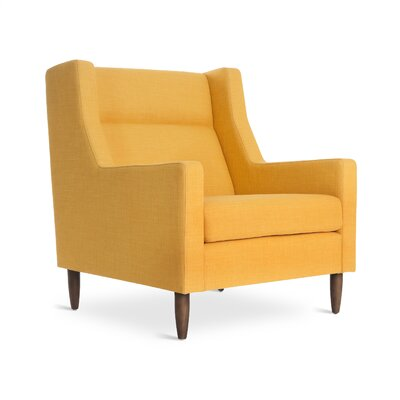 Carmichael Arm Chair Color: Laurentian Citrine