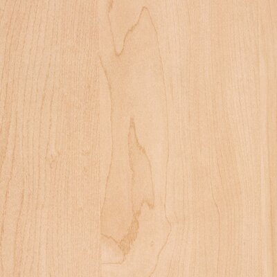 36 W Desk Return Size: 39 H, Melamine Finish: Kensington Maple