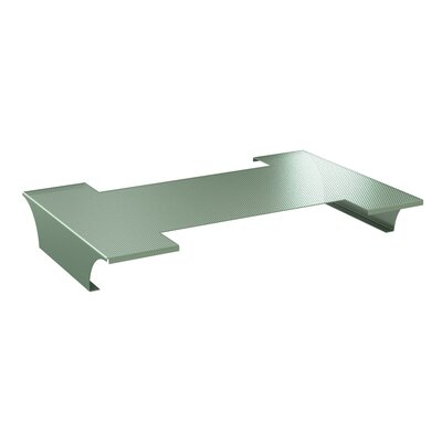 A&D 30 W Desk Bridge Bridge Finish: Cool Gray