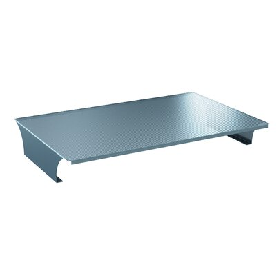 A&D 32W Desk Bridge Finish: Cool Gray