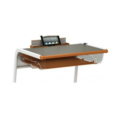 A&D 10 H Desk Tablet/Book Finish: Orangesicle