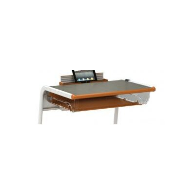 A&D 3 H x 13 W Desk Bookbox Finish: Cool Gray